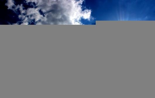 Фотообои Облака и солнце