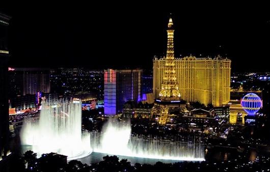 Город Лас-Вегас в США