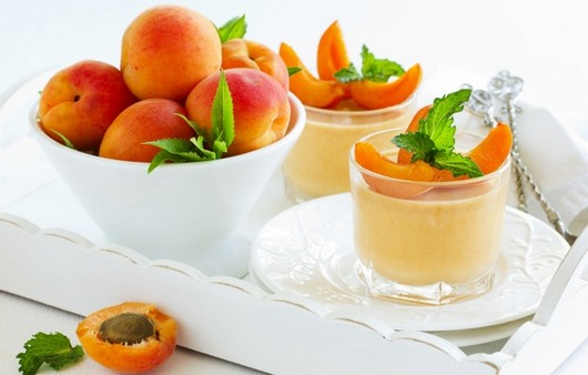 Фотообои Десерт из абрикоса
