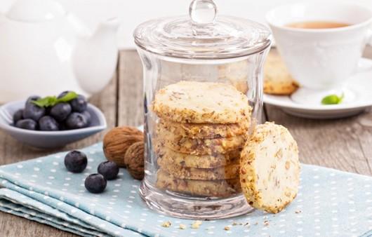Фотообои Черника и ореховое печенье
