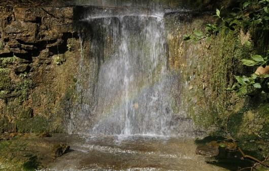 Водопад в Испании