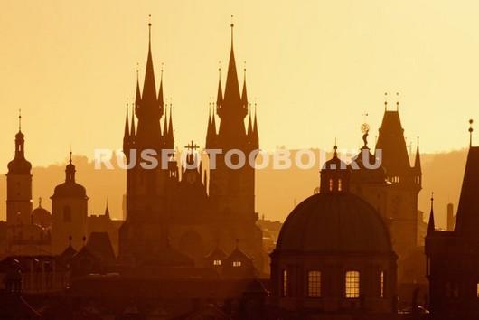 Рассвет в Праге
