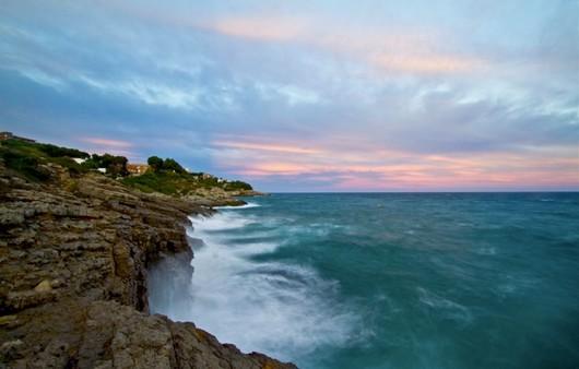 Волны у берега