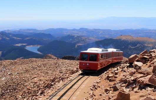 пейзаж поезда