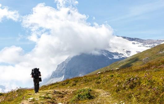 Фотообои Активный отдых в горах