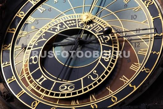 Фотообои Часы в Праге