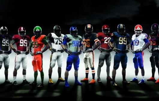 Команда игроков гандбола Nike Pro combat 2010
