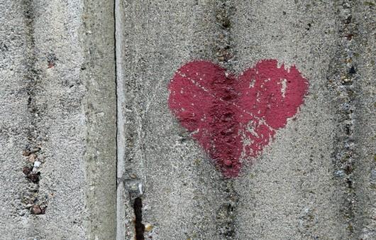 Сердечко на шифере