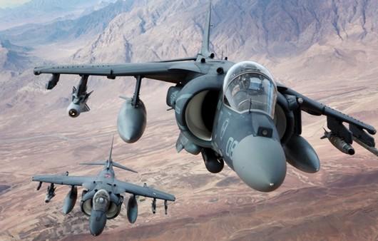 Штурмовики-истребители AV-8B