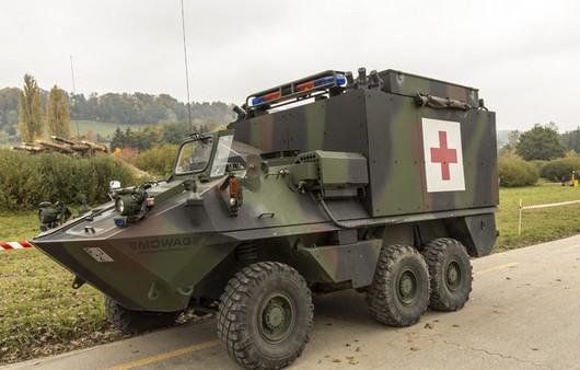 Санитарный военный автомобиль