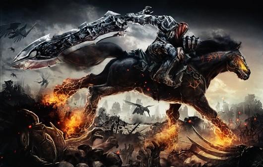 Игра Darksiders.всадник на коне