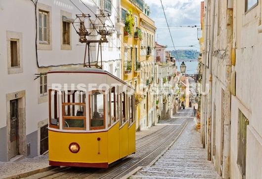 Португалия желтый трамвай