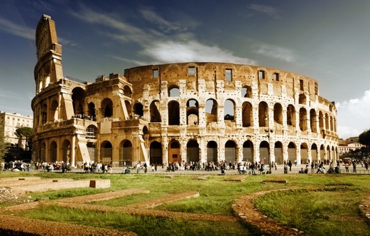 Колизей в Италии,Рим