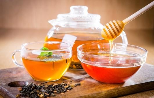 Фотообои Чай с мёдом