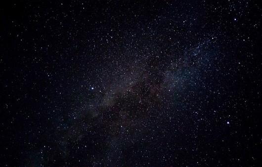 Млечный путь на звёздном небе