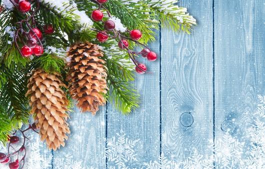 Декорация новогодней ели