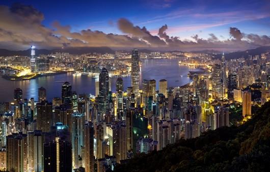 Мегаполис с высоты