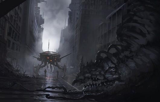 Арт картинка фантастических войн