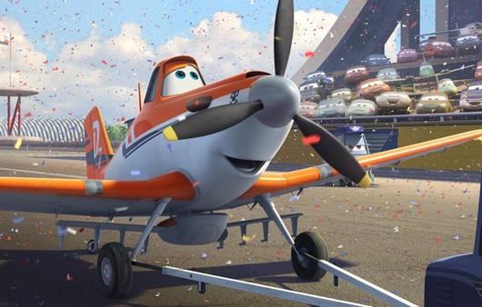 Мультяшный самолётик