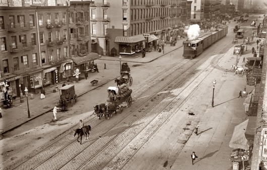 Улицы старого города Москвы