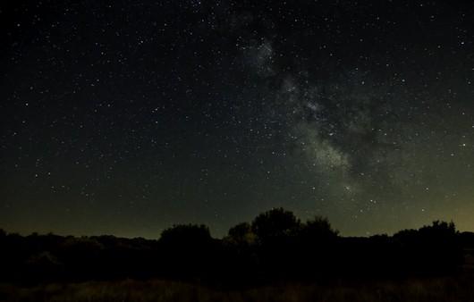 Тучи в ночном небе