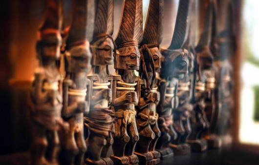 Деревянные воины майя