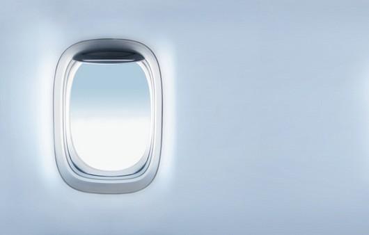 Иллюминатор в самолёте