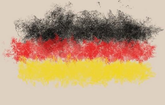 Текстура цветов,флаг Германии