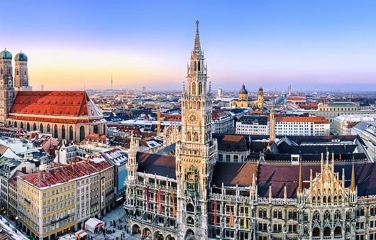 Фотообои Мюнхен вид с крыши