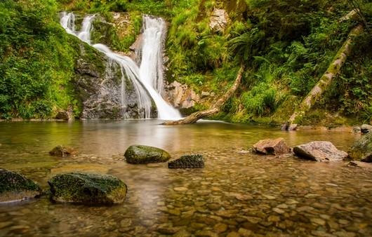 Водопады на реке Либрах