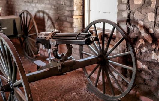 Первые пулемёты