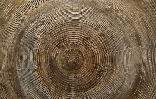 Фотообои Текстура кругов на поверхности