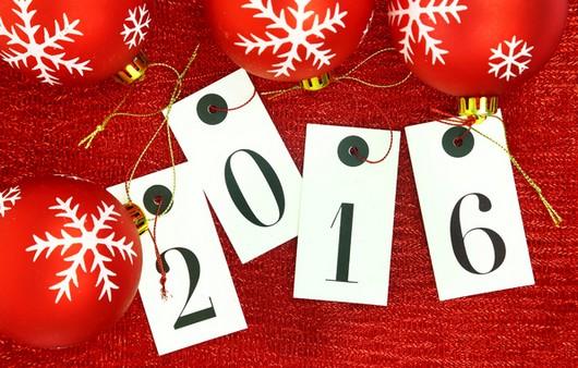 Начало Нового года 2016