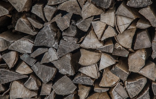 Поленница дров