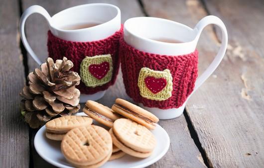 Чай в уютный зимний вечер