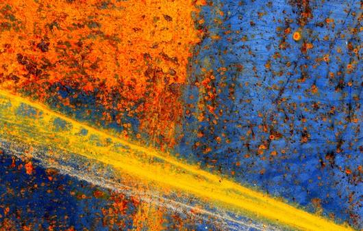Фотообои Текстура поверхности с ржавчиной