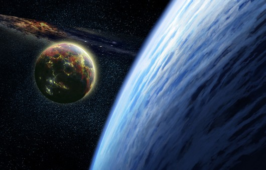 Приближение планет к поверхности земли