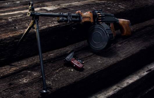 Фотообои Ручной пулемёт Дегтярёва