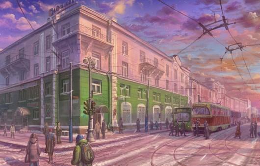 Рисунок перекрёстка улиц