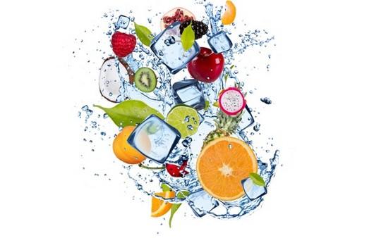 Свежесть фруктовых напитков