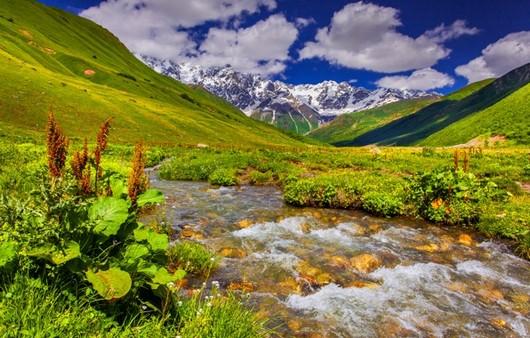 Речушка в горах