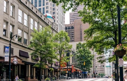 Улица в городе Джорджия