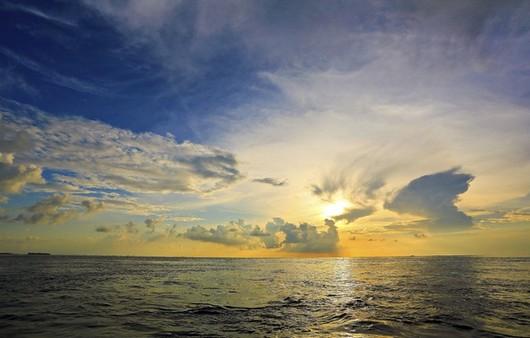 Фотообои Закат на море