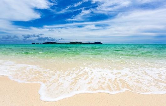 Фотообои Белый пляж