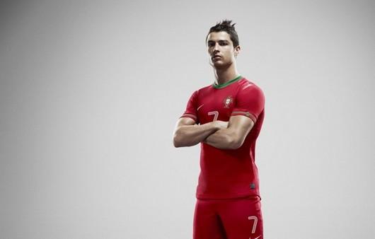 Португальский спортсмен Криштиану Роналду футболист