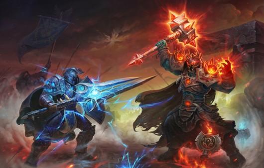 Игра воины дерутся лазерными мечами