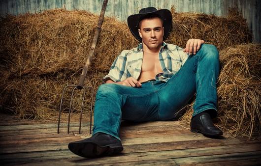 Фотообои мужчина фермер