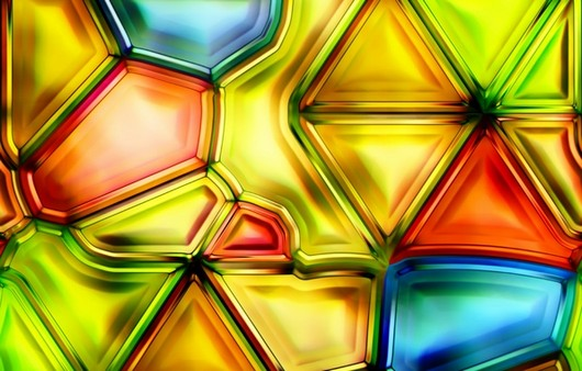 стеклянный узор
