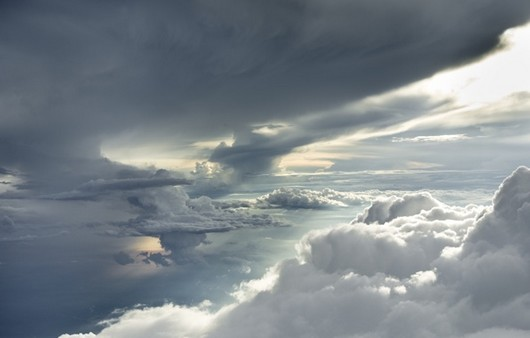 ураганное небо