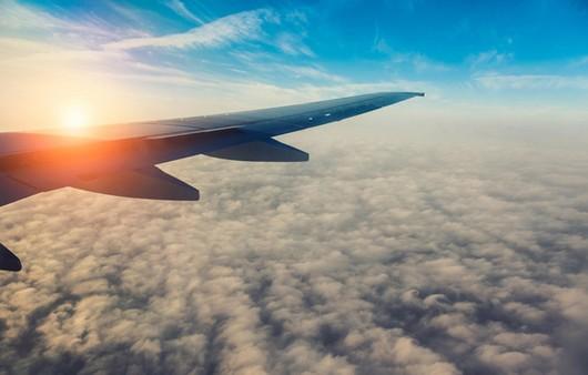 вид с самолёта